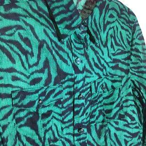 MICHAEL KORS long sleeve button down thin shirt